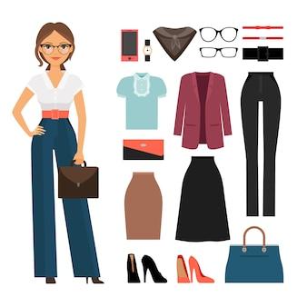 Ubrania biznesowe kobieta