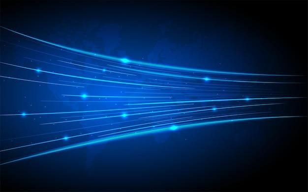 Uczenie maszynowe oparte na sztucznej inteligencji ai głębokie uczenie danych dla przyszłej grafiki technologicznej