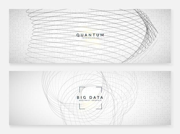Uczenie się dużych zbiorów danych. technologia cyfrowa streszczenie tło. koncepcja sztucznej inteligencji. wizualizacja techniczna dla szablonu połączenia. kolorowe tło uczenia się dużych danych.