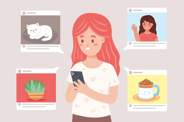 Udostępnianie treści w koncepcji mediów społecznościowych