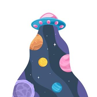 Ufo i przestrzeń kosmiczna