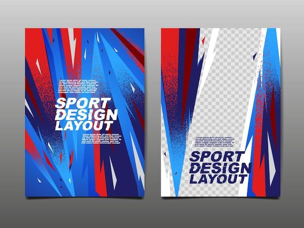 Układ projektu sportowego, projekt szablonu.