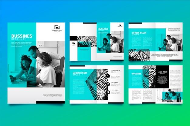 Układ szablonu broszury