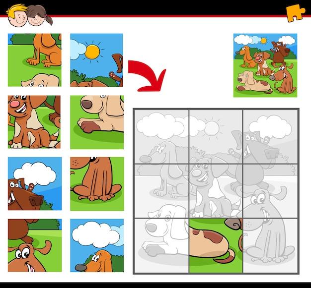 Układanki z postaciami z kreskówek dla psów