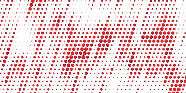 Ukośne czerwone tło półtonów