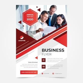Ulepsz szablon ulotki biznesowej firmy