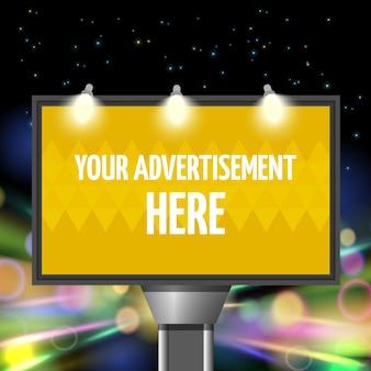 Ulica reklama miasto