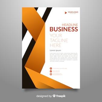 Ulotka biznes streszczenie szablon