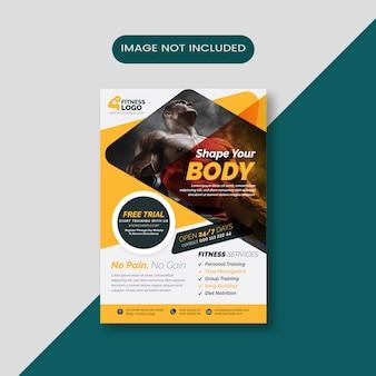 Ulotka body fitness