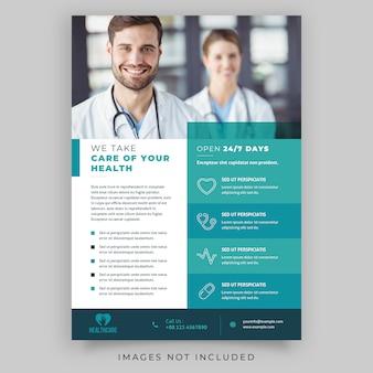 Ulotka dotycząca opieki zdrowotnej
