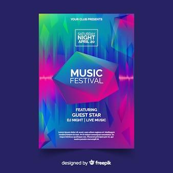 Ulotka festiwal muzyczny