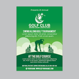 Ulotka golfowa 1