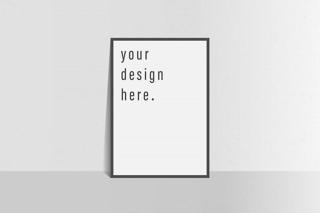 Ulotka szablon broszury prosty biały kolor tła