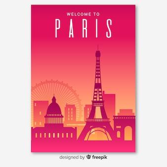 Ulotka w paryżu