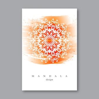 Ulotka z ręcznie rysowane manda