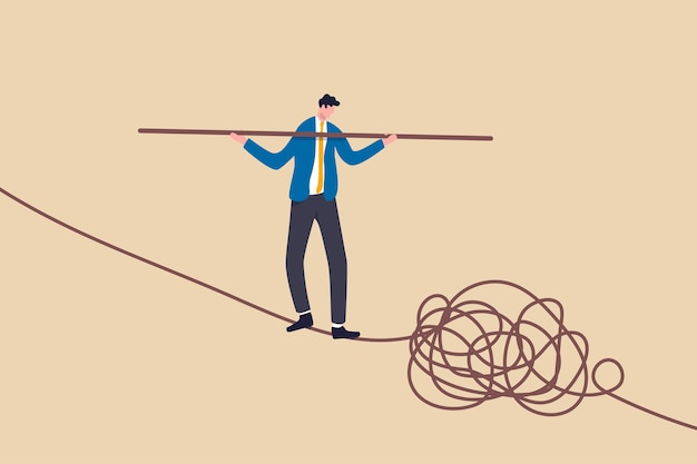 Umiejętność przywódcza do prowadzenia firmy w sytuacji kryzysowej, rozwiązywania ryzykownych koncepcji problemu