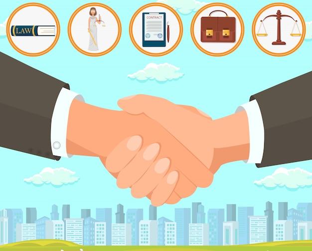 Umowa ilustracji wektorowych i umowa o sporządzenie.
