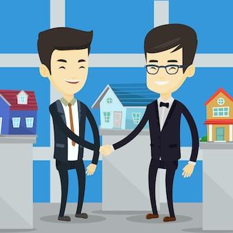 Umowa między agentem nieruchomości a kupującym.