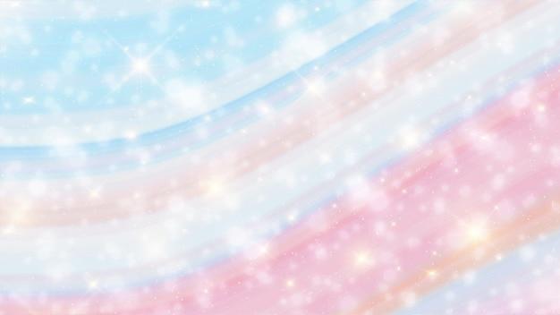 Unicorn marble galaxy print jednolity wzór w powtórzeniu.