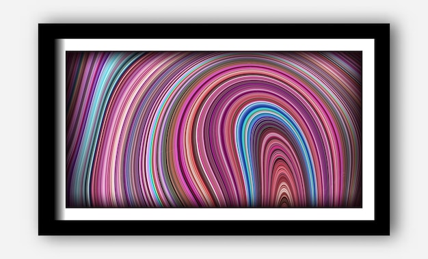 Unikalne tekstury z płynnym i odblaskowym tłem dla plakatu