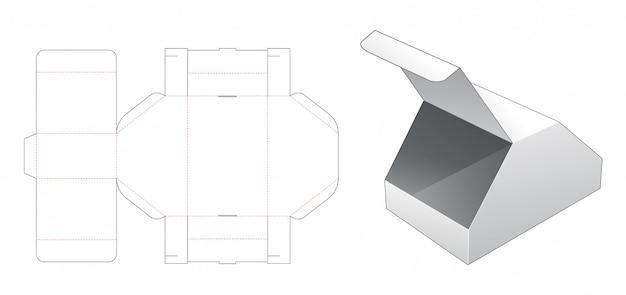 Unikalny kształt wycinany szablon
