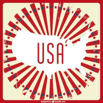 United states wektor sztuki