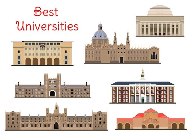 Uniwersytety yale i stanford oraz california institute of technology