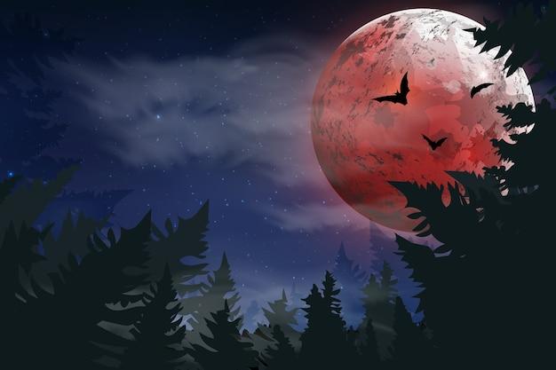 Upiorna karta na halloween