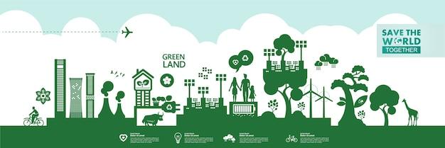 Uratuj świat razem z zieloną ekologią
