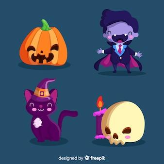 Urocza dekoracja na imprezę halloweenową