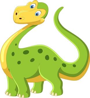 Urocza kreskówka dinozaura