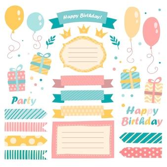 Urocza urodzinowa kolekcja notatników