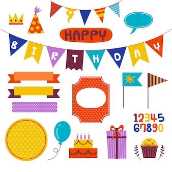 Urocze elementy notatnika urodzinowego