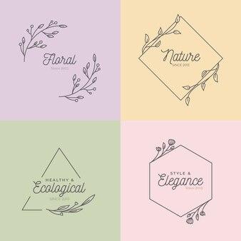 Urocze monogramy ślubne w pastelowych kolorach