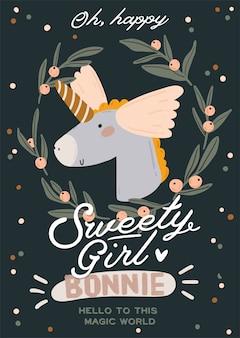 Uroczy baby shower w skandynawskim stylu z modnymi cytatami i fajnymi, zwierzęcymi dekoracjami