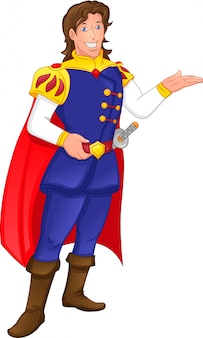 Uroczy książę kreskówka