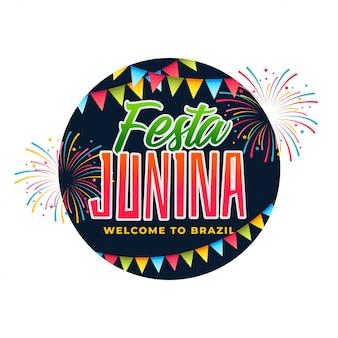 Uroczystość brazylia festa junina