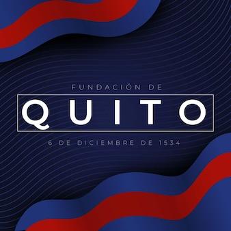 Uroczystość fundación de quito