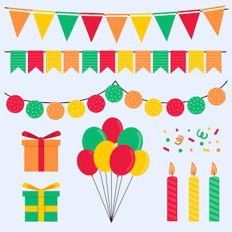 Urodzinowa kolekcja dekoracji