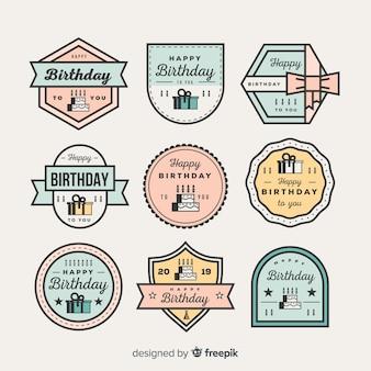 Urodzinowa kolekcja odznak