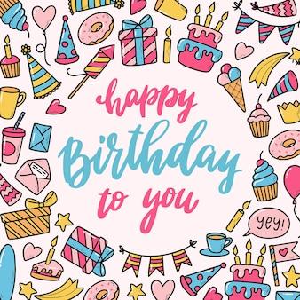 Urodziny kartkę z życzeniami