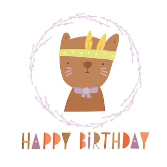 Urodziny niedźwiedzia boho