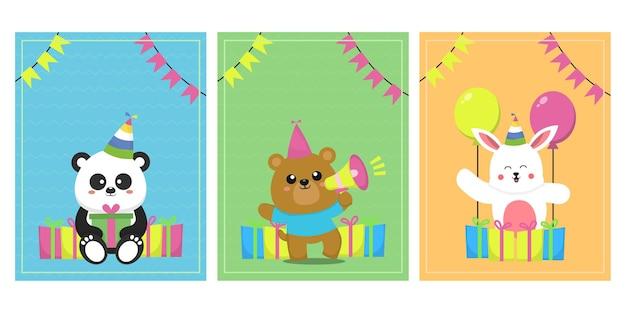 Urodziny z uroczymi zwierzętami