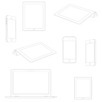 Urządzenia elektroniczne, zestaw