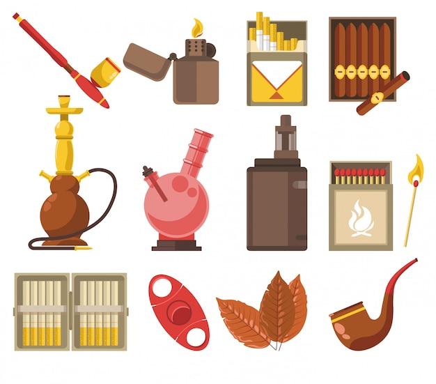 Urządzenia i wyroby tytoniowe, fajki i fajki wodne