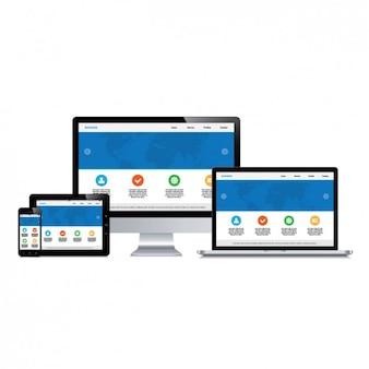 Urządzenia web design
