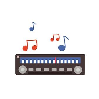 Urządzenie do radiowej transmisji muzyki