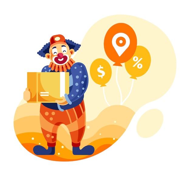 Usługa dostarczania klaunów
