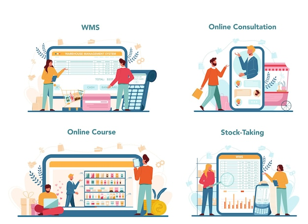 Usługa internetowa sprzedawcy lub zestaw platform