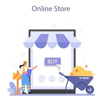 Usługa lub platforma budowy domu online